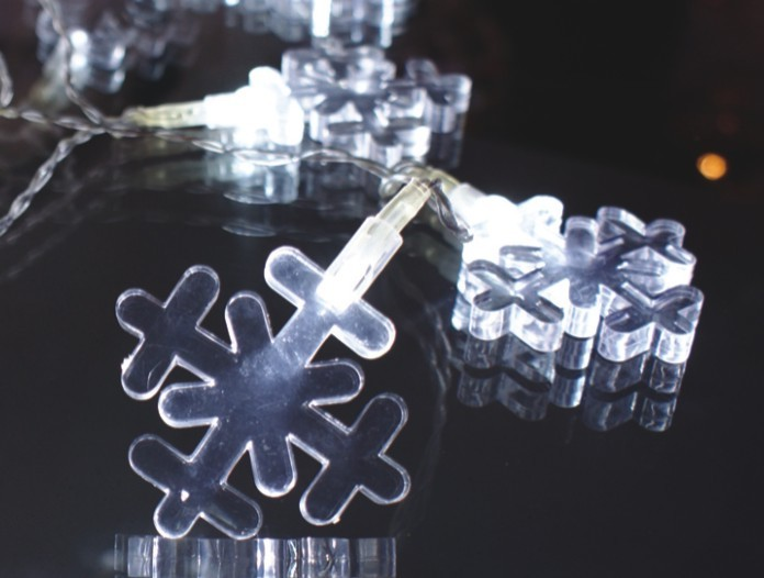 manufacturer In China FY-009-A183 LIGHT CHAIN WITH SNOWFLAKE DECORATION  distributor
