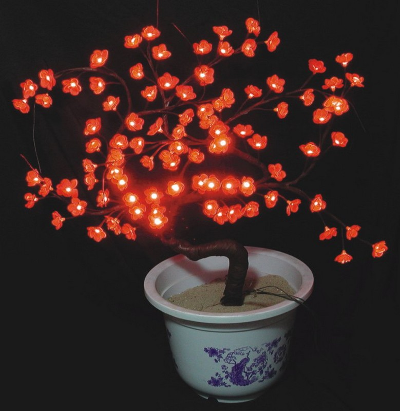 made in china  FY-08A-014 LED cheap christmas branch tree small led lights bulb lamp  factory